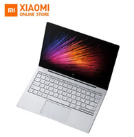Wholesale Notebook Intel Core I5 - Original 12.5 inch Xiaomi Mi Notebook Air Intel Core M3-6Y30 CPU 4GB DDR3 RAM Intel GPU Windows 10 Laptop SATA SSD