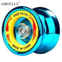 Wholesale Flashing Yoyo - Magic YoYo KK bearing Honor High Performance Professional Bearing Yo-Yo Ball Bearing String Trick Kids Education Toys Gift