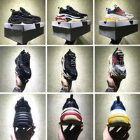 Wholesale High Top Men S Shoes - Luxury Brand New Unveils Triple S Sneakers High Fashion Spec Trainers Shoes for Men Top Quality Tripe-S Retro Training Sneakers Shoes