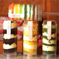 ingrosso la spinta di torta spinge i contenitori-Eco-Friendly Food Grade Pop Push Up Containers push Cake Pop Cake Contenitore per Forma rotonda Decorazione per feste