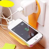 los mejores precios de telefonía celular al por mayor-Al por mayor-Mejor Precio 4PC Universal Lazy Bed Charging Soporte Mount Stand Holder para el teléfono celular