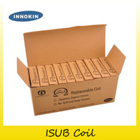 Wholesale Coil Heads V - Authentic Innokin iTaste iSub Sub ohm Coil 0.2ohm 0.5ohm 2.0ohm Replacement Coils For iSub V G Tank Atomizer Coil Head 2201045