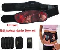 Wholesale Low Frequency Massage Therapy - Multifunctional low frequency pulse waist slimming equipment vibration massage AB abdominal fat loss fitness belt