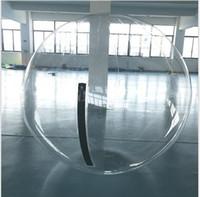 пвх водные шары оптовых-1.3 м 1.5 м 1.8 м прозрачный раздувной шарик воды гуляя, шарик воды PVC раздувной шарик zorb играть в шарики воды ходьбы мяч балов