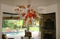 UL spanish style lamps - Spanish Colored Glass Lamps Chihuly Style Hanging DIY Hand Blown Glass Chandeliers and Suspensions New House Decor