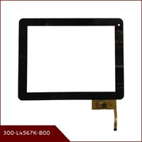 "Wholesale Dpt Digitizer - Wholesale- 9.7"" Touch screen DPT 300-L4567K-B00 12pins touch panel digitizer sensor Replacement for 9.7inch Android Tablet 300 L4567K B00"