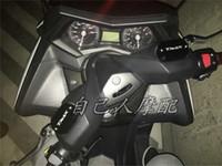 reservatório de fluido de motocicleta venda por atacado-Frete grátis de alta qualidade volero motocicleta cnc cap reservatório de fluido de freio para yamaha tmax 530 12-15 tmax 500 2008 - 2011