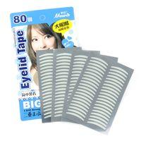 Wholesale Eye Tape Fiber - Wholesale- Fashion Hot Selling Lady Girl's Breathable fiber Eye Tapes Make-Up Narrow Double Eyelid Sticker Tape Free Shipping