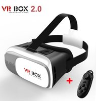 Wholesale Video Glasses Games - Virtual Reality VR BOX II 2.0 Version 3D Glasses Google Cardboard VR Glasses 3D Video Movie Game for Smartphones 3.5-6 Inch A1