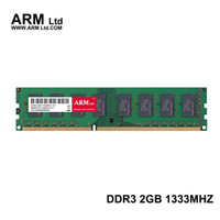 Wholesale Memory Ram Ddr3 2gb Desktop - ARM Ltd DDR3 2GB 1333Mhz 1600Mhz for Desktop Memory CL9-CL11 1.5V DIMM RAM 1333 2G 4GB 1600 Lifetime Warranty