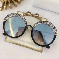 Wholesale purple glass plates - GOTHA Fashion Luxury Brand Designer Glasses Shiny Chip Plate Charm Frame Top Quality UV400 Lens Mirror Popular Glasse Removable With Box