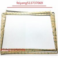 Wholesale Ipad Middle Frame - 100pcs LCD Middle Frame Touch Screen Digitizer Middle Bezel With Sticker Adhesive For ipad 2 3 4 Repair Parts