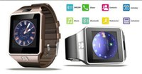 Wholesale Top Inch Android Phones - Top Quality Smartwatch Latest DZ09 Bluetooth Smart Watch With SIM Card For Android Samsung IOS Android Cell phone 1.56 inch
