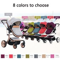 Wholesale Cars For Babies - Aimile baby stroller 3 in 1 stroller for children car poussette by umbrella stroller 7 colors