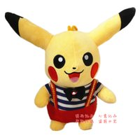 Wholesale 30CM new dressed Pocket Monster cartoon Picacho plush toy doll as a gift send to girl and kids