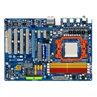 Wholesale Vga Amd - Free Shipping Original Motherboard For Gigabyte GA-M720-ES3 AMD Socket AM2 AM2+ AM3 DDR2 16GB NVIDIA nForce 720D Desktop Motherboard