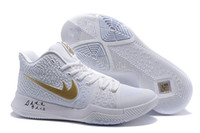 Wholesale White Lycra Sale - [with box] Mens kyrie irving shoes III 3s Kyries 3 Basketball Shoes White Blue Red kids kyrie irving shoes for sale size 7-12