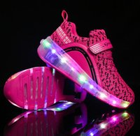 led slippers prices - 2017 new style of girls roller shoes automatic led lighted Flashing Slippers with Single Wheel   Double Wheels for Adult Children