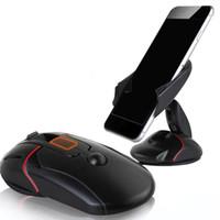 carro p7 venda por atacado-Criativo suporte do telefone do painel do carro suporte um toque mouse ventosa berço para huawei p7 p8 p9 lite lenovo p780 p70