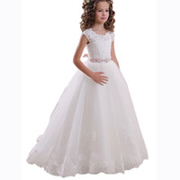 Wholesale Special Occasion Dresses Teens - 2017 Girls Toddler Pageant Dresses for Teens Lilac Flower Girls Dress For Birthday and other Special Occasion