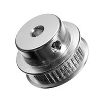 Wholesale 3d Printer Pulley - 1pcs New GT2 Timing belt Pulley 40 Teeth Alumium Bore 5mm For Width 6mm Belt for 3D Printer Accessory