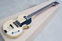 wood Hollow Guitar new ALL NEWBB-2 4-string four-string electric bass wood color tiger pattern veneer body