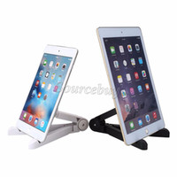 Wholesale portable fold stand tablet pc for sale - Group buy 2 Color Adjustable Tablet Stand Holder Portable Fold UP Stand Mounts For inch Tablet PC IPad Mini for IPAD AIR