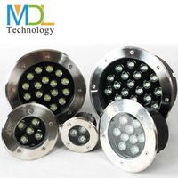 Wholesale 1W W W W W W LED Underground Lamp Outdoor Garden Floor Lamp Buried Yard Landscape Spot Light IP67 recessed in ground light AC110 V