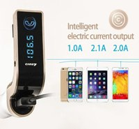 Wholesale micro sd card mp3 player for sale - Group buy 2017 G7 Bluetooth MP3 Radio Player Handfree FM Transmitter Modulator A Car Charger Wireless Kit Support Hands free Micro SD TF Card