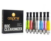 Wholesale Heat Coil Ce5 - 100% authentic aspire ce5 clearomizer CE5 BVC atomizer With BVC BDC Bottom Filling Heating Vertical Coil Head also ce5 s bvc in stock