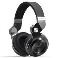 Wholesale T2s Headphone - Bluedio T2S Original bluetooth Headphones Microphone stereo wireless headset bluetooth 4.1 for Iphone Samsung Xiaomi HTC