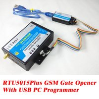 Wholesale Gsm Gate Door - Wholesale- GSM Gate Opener Relay Switch Remote Access Control Wireless Door Opener By Free Call RTU 5015 plus