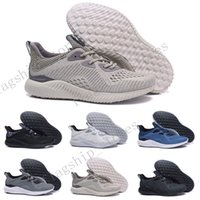 Wholesale Alpha Leather - Hot Sale Alphabounce EM Boost 330 Running Shoes Alpha bounce Sports Trainer Sneakers Man Shoes With Box Size US 7--11Free Shipping