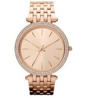 Wholesale Nurse Wristwatches - 2017 brand Ultra thin rose gold woman diamond flower watches luxury nurse ladies dresses female Folding buckle wristwatch gifts for girls