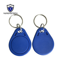 Wholesale Nfc Key - MIFARE Classic® 1K Key RFID Fobs 13.56MHz Proximity ABS IC Tags NFC 1k Tag Access Controller With Chip -100pcs