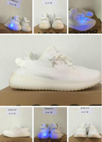 Wholesale Size 48 Shoes Men - 2017 New 350 V2 Cream White V2 shoes Size 36-48 with box best quality shoes Euro size 36-48 man woman sneakers right version fashion shoes