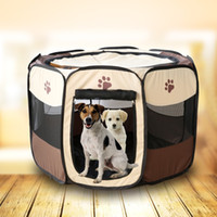 Houses outdoor canopy designs - Folding Pet Tent Playpen Dog Bed Fence Puppy Kennel Folding Exercise Play Foldable Design Easy to Carry Save Space