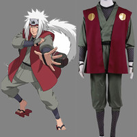 Wholesale Japanese Anime Naruto Cosplay Costume - Japanese Anime Naruto Cosplay Naruto Jiraiya Headband Costums