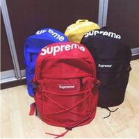 Wholesale supreme bag fashion backpack school bag fashion outdoor bags SS TH BACKPACK