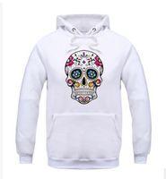 Wholesale men s skull heads - Skull head men's clothing Men's Sportswear Sweater Set Casual Men's Sweater mens hoodies sweatshirts