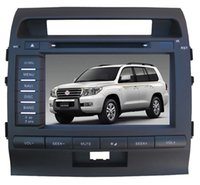 """Wholesale Toyota Land Cruiser Aux - 8"""" Car DVD player with GPS navi(optional),audio Radio stereo,USB SD,AUX,BT TV for Toyota LAND CRUISER 2008 2009 2010 2011 2012 2013 2014"""