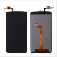 """Wholesale Alcatel Digitizer - For Alcatel One Touch Idol 3 6045 OT6045 LCD 5.5"""" LCD Display Digitizer Touch Screen Assembly Black Free Shipping with tools"""