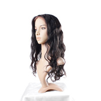 Wholesale Tangle Free Full Lace Wigs - Full Lace Human Hair Wigs Peruvian Body Wave Wig With Baby Hair Glueless Uglam Free Shipping No Tangle
