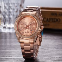 Top New Luxury Fashion lady dress watch com Box Famous Brand Full Diamond Calendário Dial Jóias Mulheres relógio High Quality Best Gifts