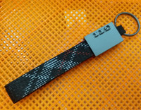 Wholesale vw chain - Fashion Metal Weave Key Chain Keychain Keyring Key Ring Keyfob For GTI VW Volkswagen Golf MK 2 3 4 5 6 7 Car Styling Accessories