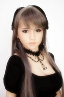Wholesale Entity Dolls - 148cm japanese solid silicone sex dolls with wig vagina anal oral sex built-in metal skeleton real silicone sex toy product entity dolls
