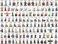 Wholesale Wholesale Sale Models Figures - 500pcs lot Individually Single Sale Marvel Super Heroes Bricks avengers superman hulk Building Blocks Model Bricks Toys figures