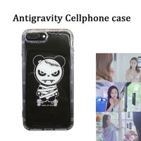 Wholesale iphone generation cases - Generation Anti Gravity Selfie Magical tpu+ silicone mobile phone case drop-proof shock-proof cellphone protector for Sam s7 edge s8 IP 8