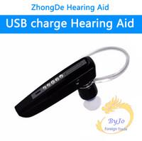 Wholesale Hearing Aid S Cheap - Rechargeable bluetooth style BTE hearing aid S-101 earphones deaf cheap hearing aids for mild to severe