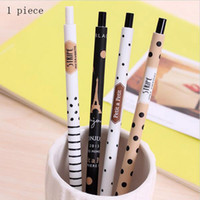 Wholesale New mm Cute Kawaii Plastic Mechanical Pencil Lovely Dots Tower Automatic Pen For Kids Korean Stationery